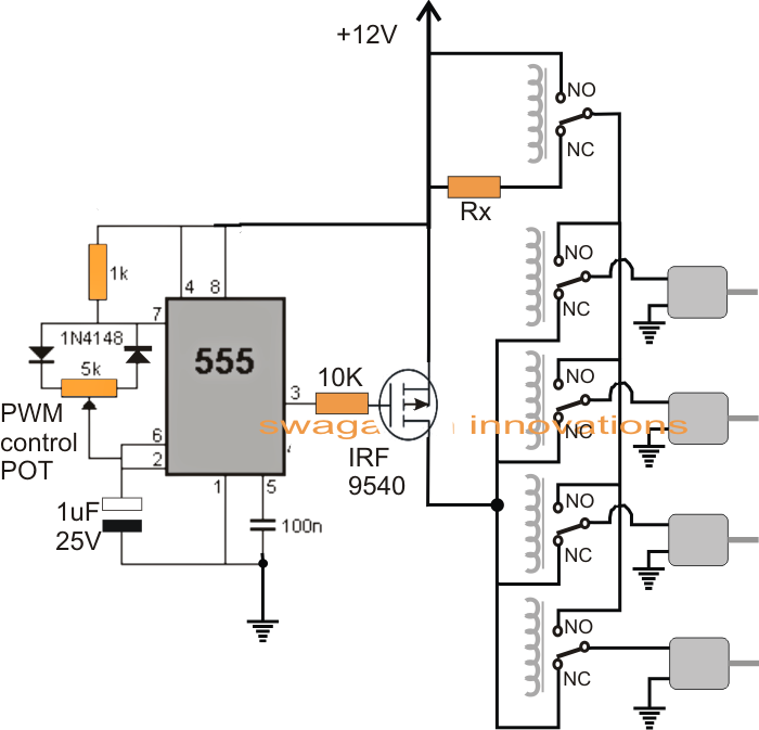 rc light wiring schematic
