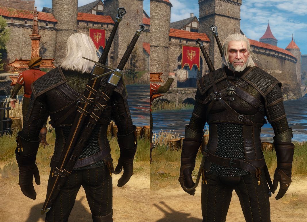 Viper Set No Scales At The Witcher 3 Nexus Mods And Community The Witcher Books The Witcher Witcher Armor