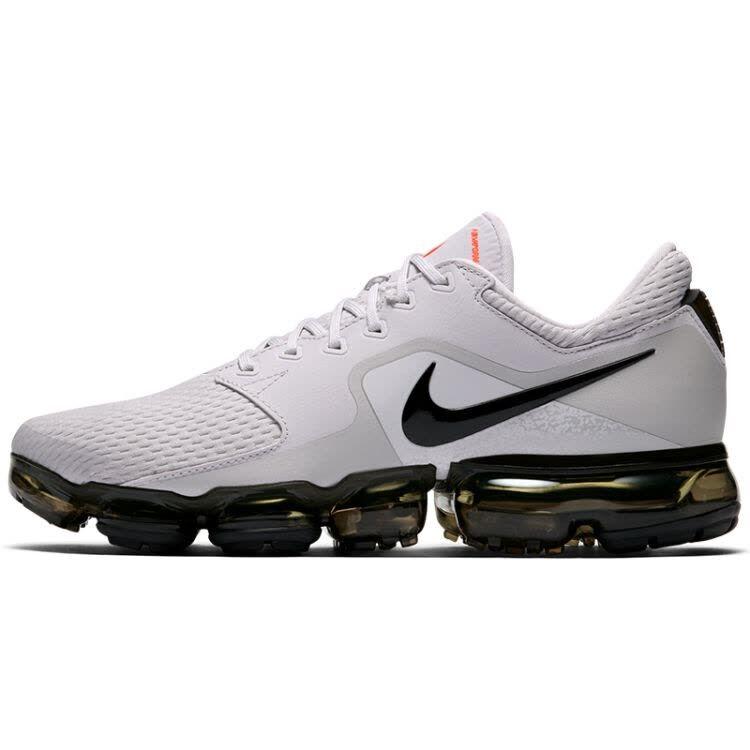 0a2d611ba05d Nike Air VaporMax 2018 2.0 Flyknit Vast Grey Black Green Men Running Shoes
