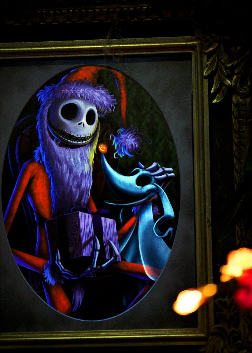 Disneyland // Haunted Mansion Holiday // Jack Skellington and Zero ...