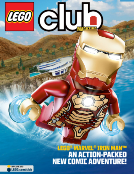 Get Your Lego Lovin' Kid A Free Subscription to Lego Club Magazine ...