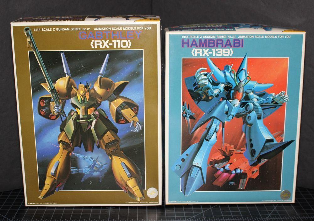 Z Gundam Zeta Rx 110 Babthley Rx 139 Hambrabi 1 144 Kit Bandai