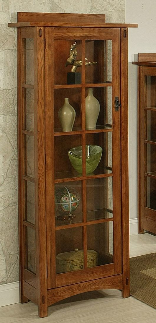 Bungalow Curio Cabinet Pinteres