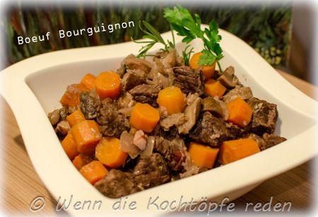 Boeuf Bourguignon oder Burgunderbraten #frankreich #franzoesisch #rezept #rindfleisch #braten #klassiker