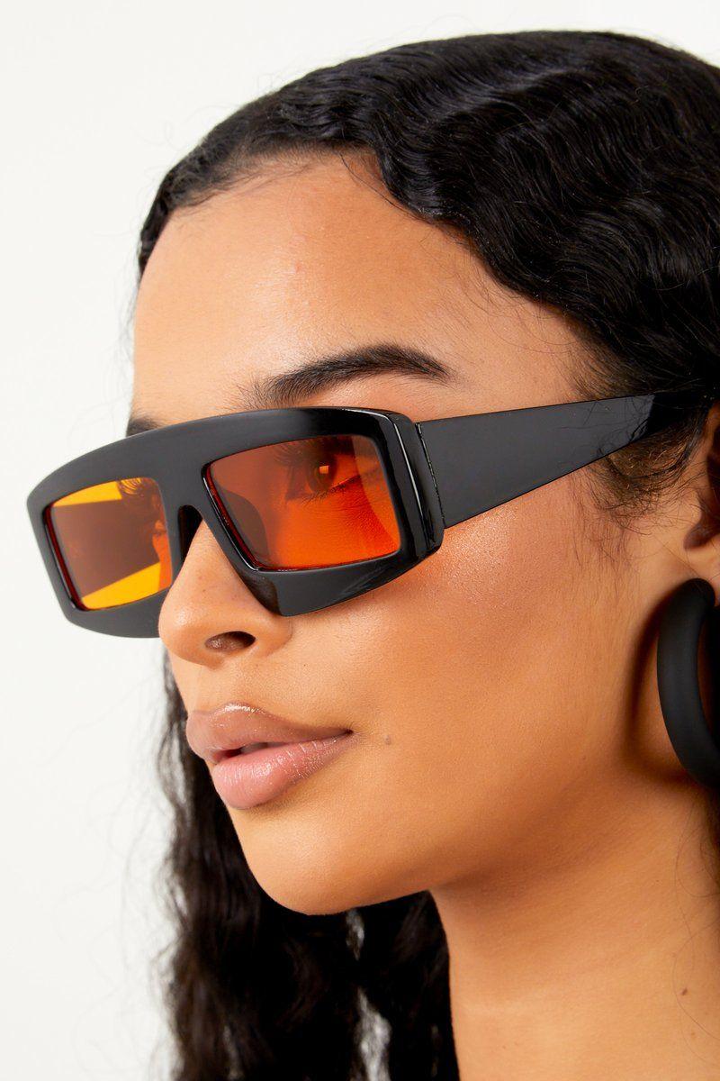 5c2973bb41d2  18 Outstanding Sunglasses - Orange Black – sosorella Sunnies
