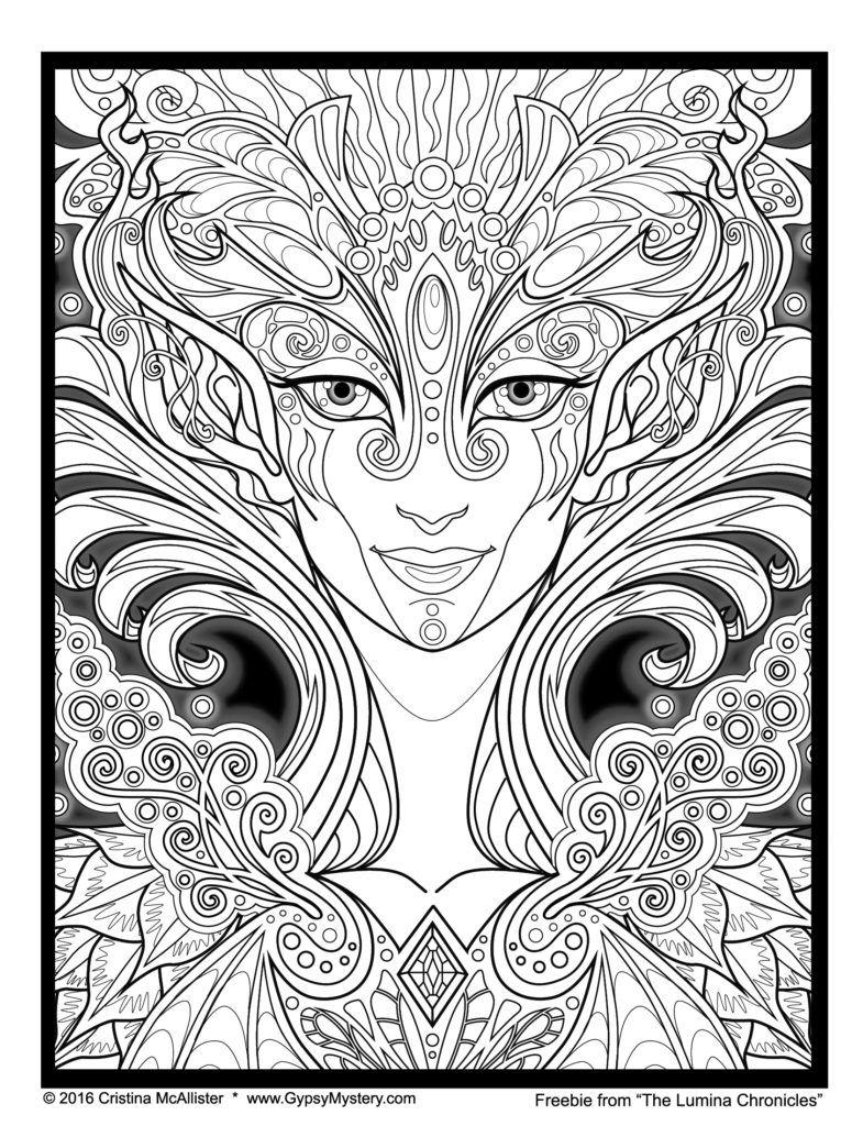 freebielumina | COLORING PAGES | Pinterest | Mandalas, Colorear y Pintar