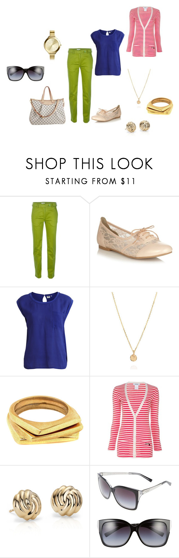 """""""Sin título #373"""" by alejaborrayo on Polyvore featuring moda, Carven, Call it SPRING, Object Collectors Item, Laura Lee, Louis Vuitton, SOKO, Sonia by Sonia Rykiel, Blue Nile y Michael Kors"""