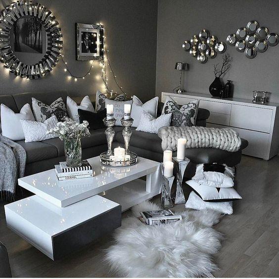 Gemütliche Wohnzimmer, Schlafzimmer, Romantische Deko, Wohnzimmer  Einrichten, Schönen Abend, Kreative Ideen, Deko Ideen, Diy Deko, Einrichten  Und Wohnen