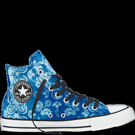 e8e9758437c3 I gotz! Chuck Taylor Bandana Print blue