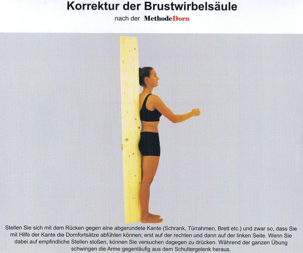 Korrektur der Brustwirbelsäule nach der Methode Dorn | Dorn-Methode ...
