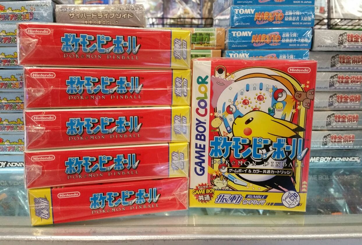 Game boy color japan - Gameboy Color Pokemon Pinball Japanese Gameboy Games Are Region Free And Will Play On All Systems