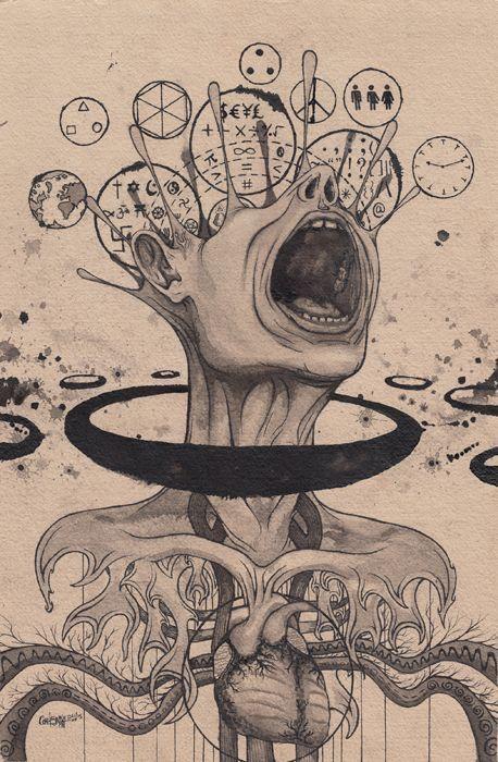 foto de Pin de Bombadil en Flasheras | Dibujos psicodélicos