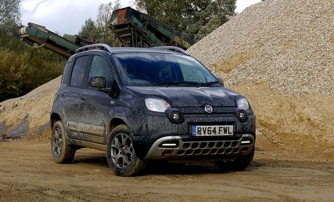 fiat panda cross tiny but tough cars pinterest fiat panda fiat and 4x4. Black Bedroom Furniture Sets. Home Design Ideas