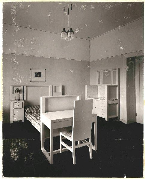 purkersdorf sanatorium josef hoffmann interieur. Black Bedroom Furniture Sets. Home Design Ideas