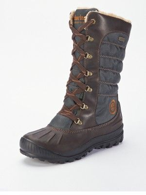 Timberland Mount Holly Hiker Boots - Dark Brown