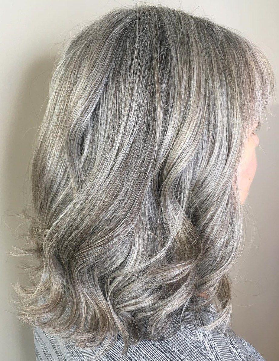 65 gorgeous gray hair styles  long gray hair medium hair
