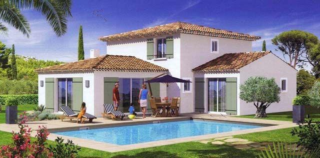 construction Maison 5 pièces sur terrain de 1500 à 2000 m2 - BAGNOLS - budget pour construire une maison
