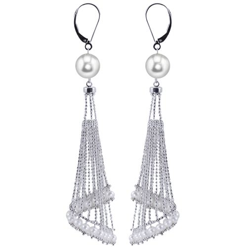 Freshwater pearl chandeliers... #Imperial #stevesjewelers