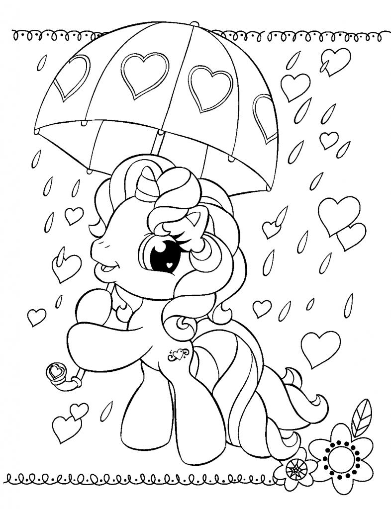 My Little Pony Printable Coloring Sheets My Little Pony Coloring Valentine Coloring Pages Unicorn Coloring Pages