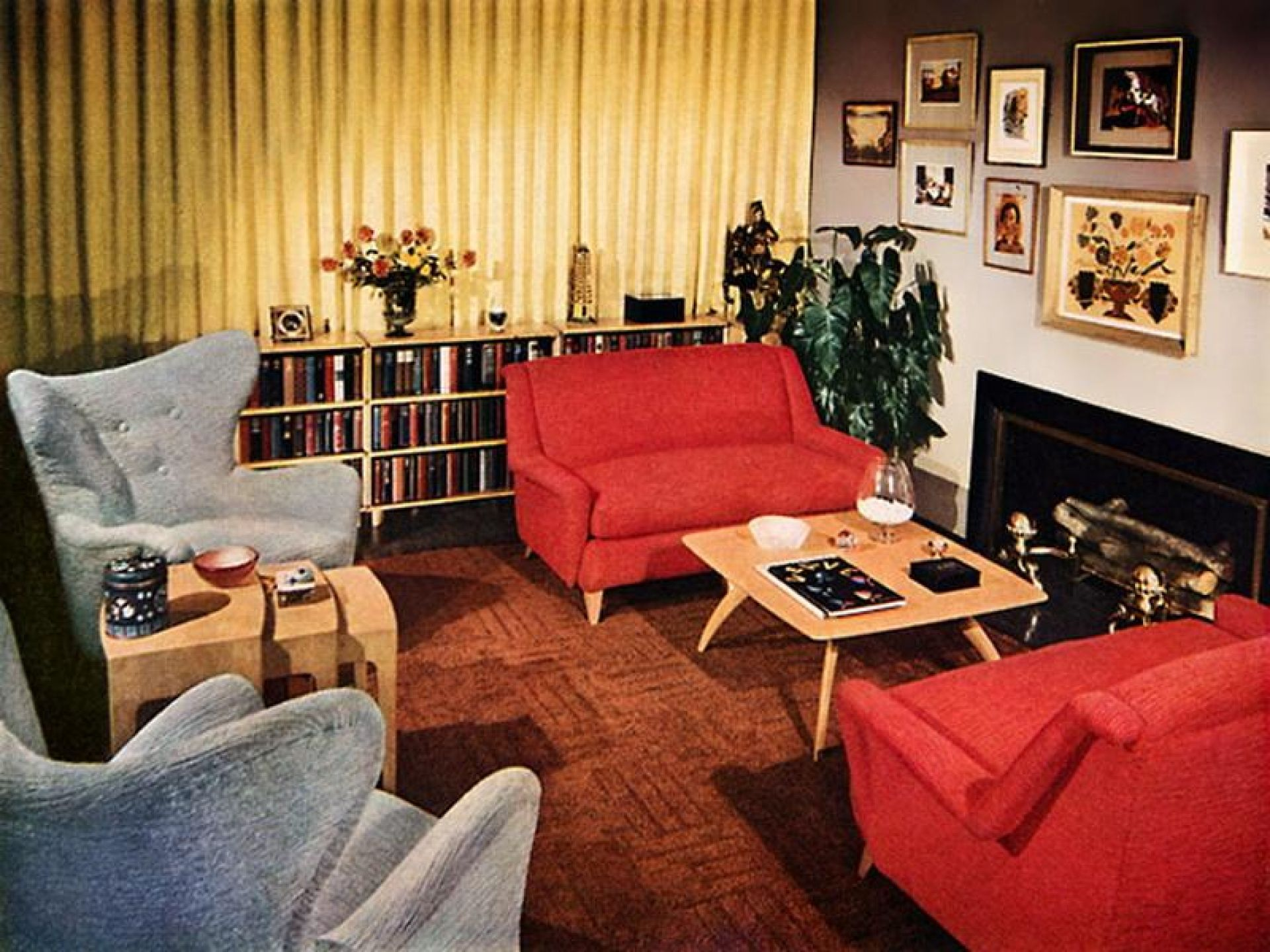 1950s house interior. 1950s Interior House  Google Zoeken Livingrooms Of The Past