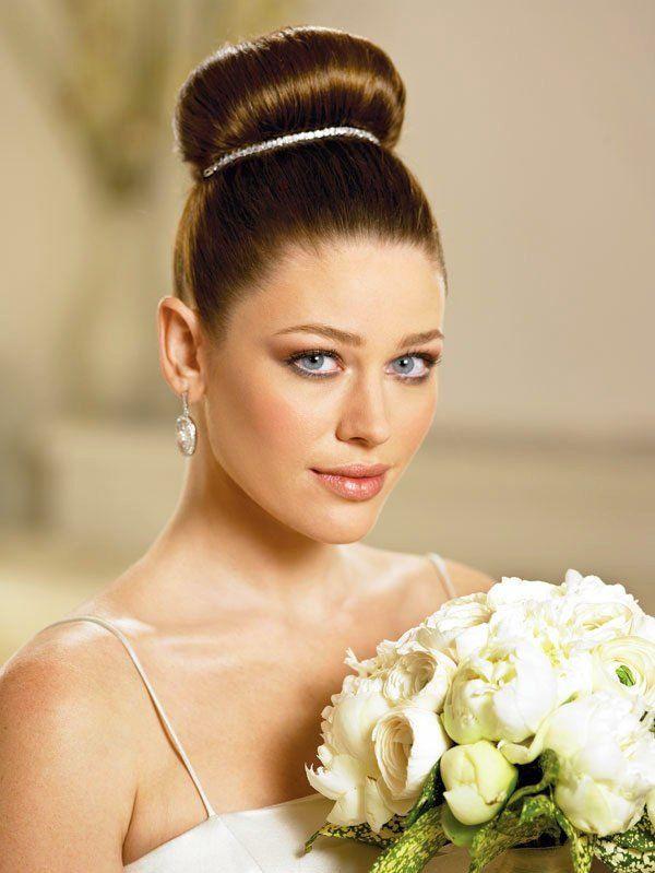 Coiffure de mariage et bijoux de cheveux 55 idées