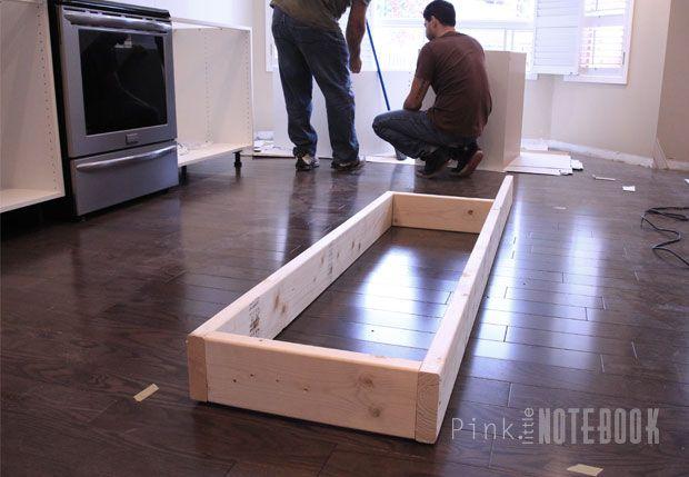Creating an IKEA Kitchen Island | Build kitchen island ...