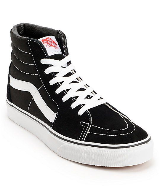 vans high tops black