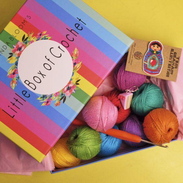 Little Box Of Crochet A Monthly Subscription Box Full Of Crochet Delights Little Boxes Crochet Box Crochet