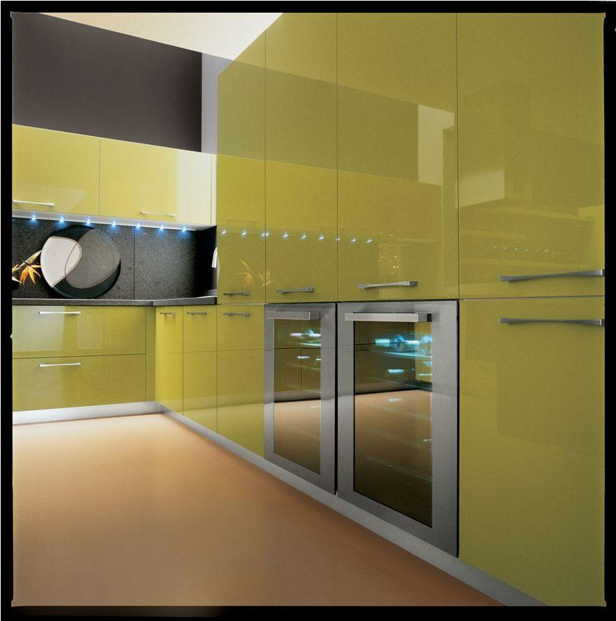 Cocina en verde green kitchen cocinas modernas for Cocinas verdes modernas