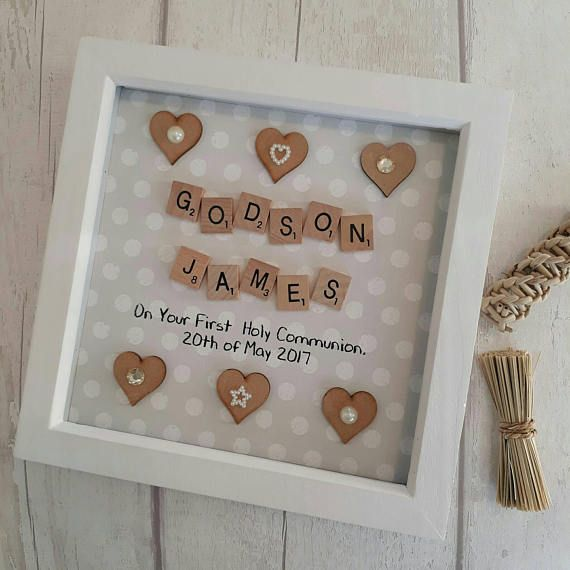 Personalised Godmother Gift Baby Newborn Christening Godchild Naming Day Gift