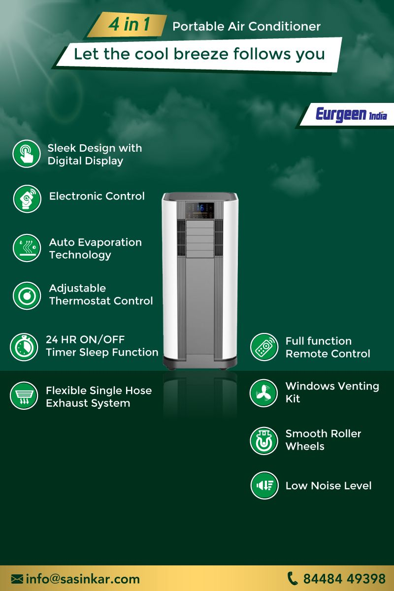 Get Exciting Features With Eurgeen India 4 In 1 Portable