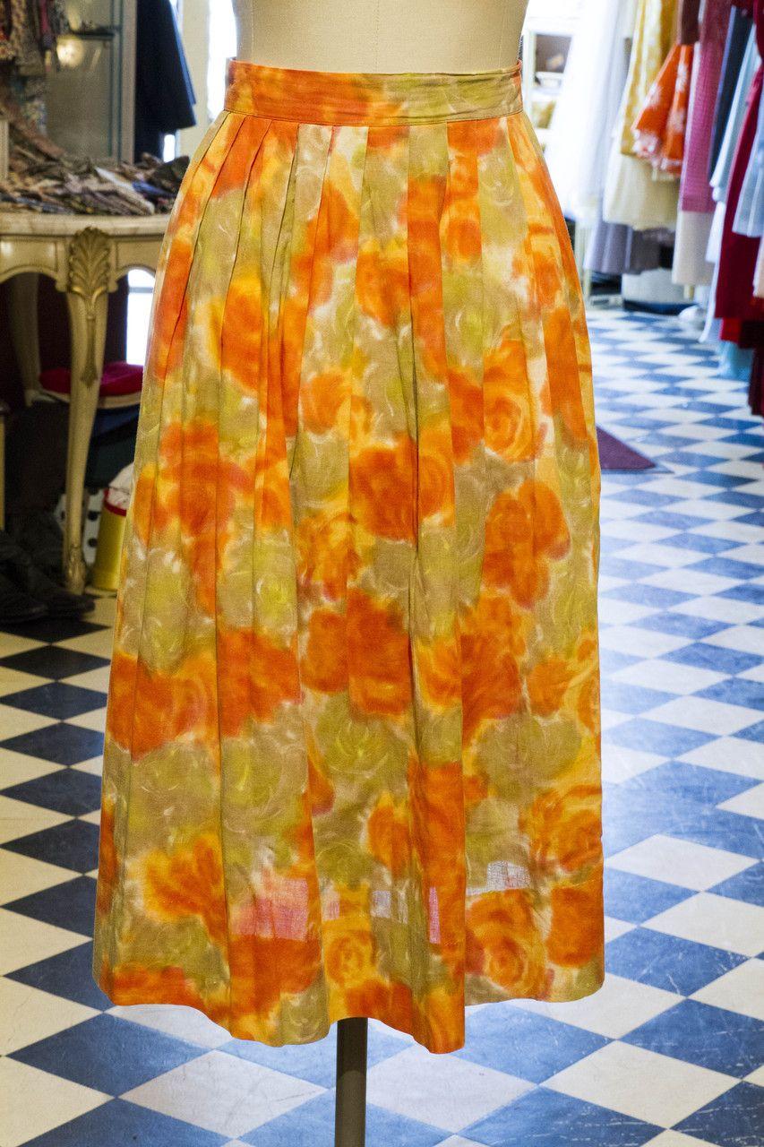 Cabaret Vintage - Women's Vintage Orange Skirt , $125.00 (http://www.cabaretvintage.com/dresses/vintage-skirts/womens-vintage-orange-skirt/) #vintageskirt  #vintage #dressvintage #shopping #vintagestore #vintagefashion #ilovevintage #vintagelove #vintagegirl #vintageshopping #vintageclothing #vintagefinds #vintagelover #vintagelook #followme #skirtoftheday #ootd #shopitrightnow #instastyle #torontovintage #toronto #queenwest #cabaretvintage