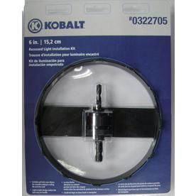 Recessed Light Hole Saw Beauteous Kobalt Carbidegrit Hole Saw Kit  Tools  Pinterest Decorating Design