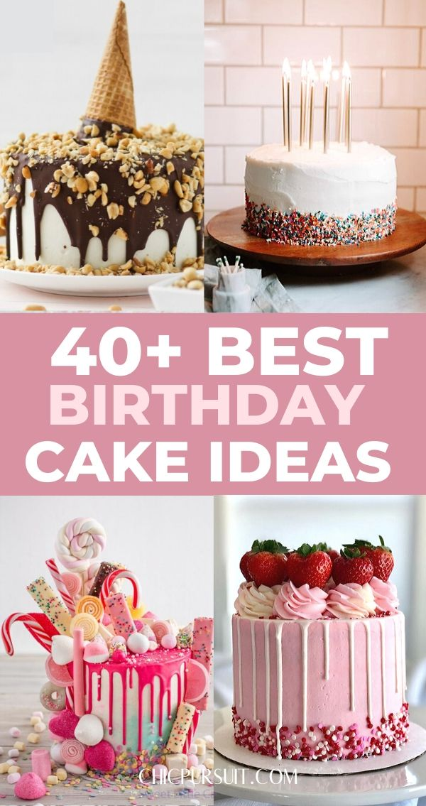 Terrific 40 Awesome Unique Birthday Cake Ideas Are You After Easy Birthday Cards Printable Trancafe Filternl
