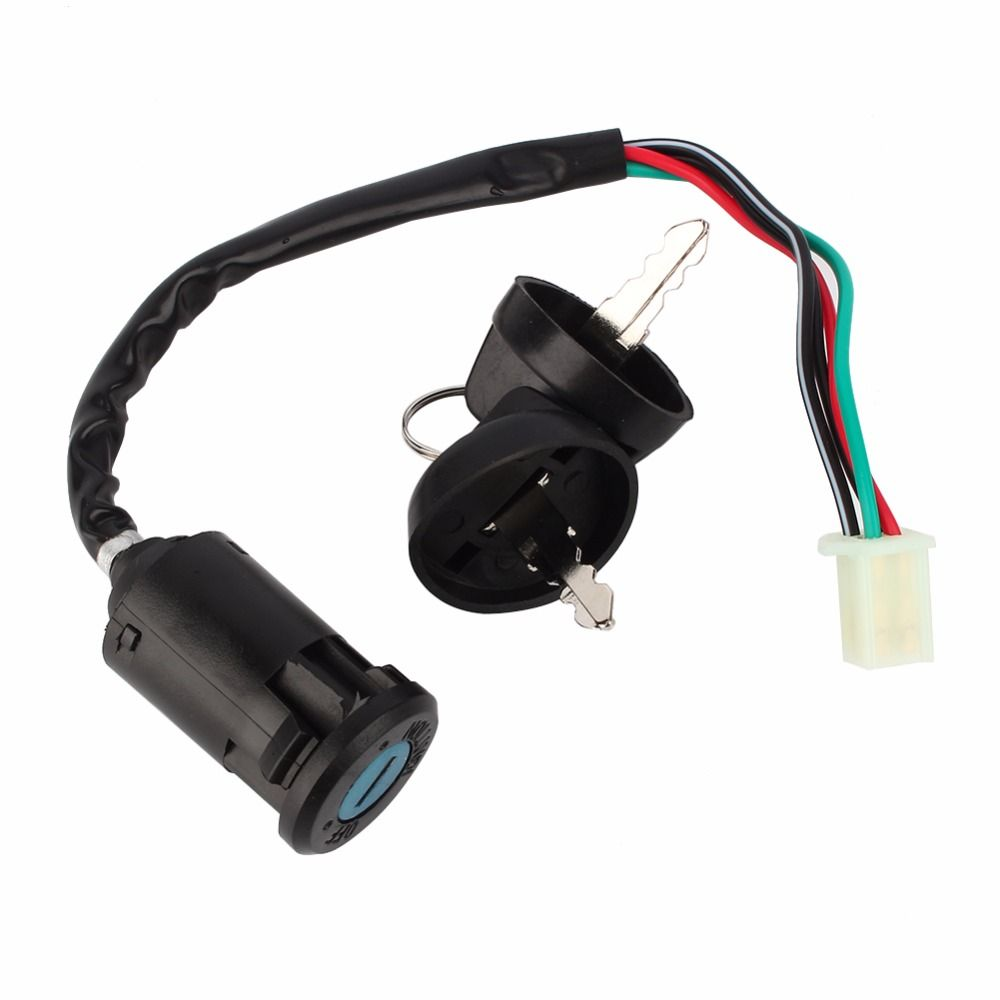 4 wire ignition switch wiring diagram 110cc atv universal