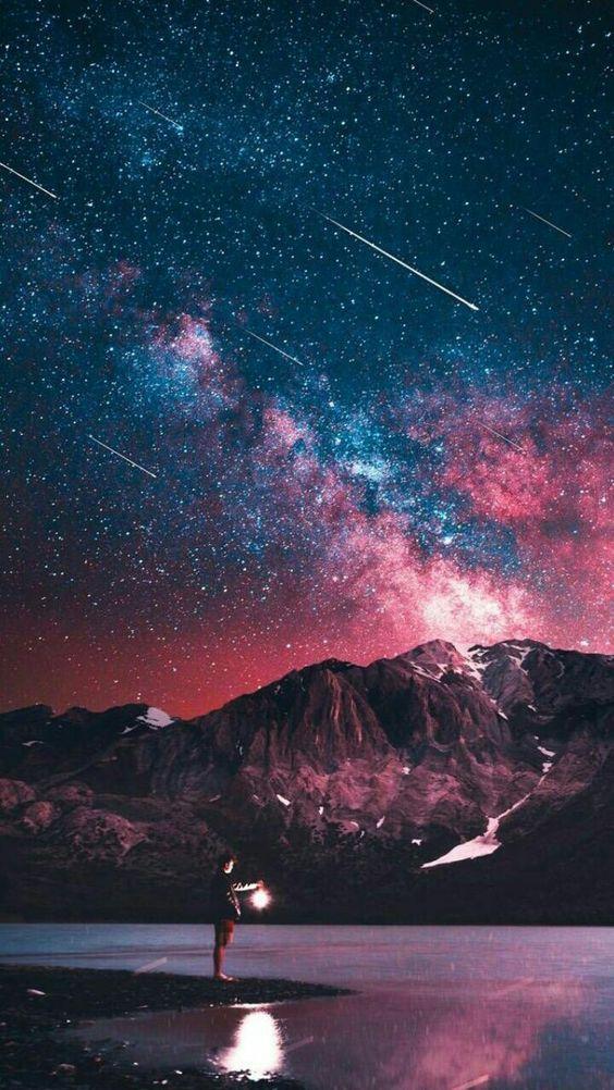 خلفيات ايفون 8 الاصلية Wallpaper Iphone Original Tecnologis Night Sky Wallpaper Beautiful Wallpapers Starry Night Wallpaper