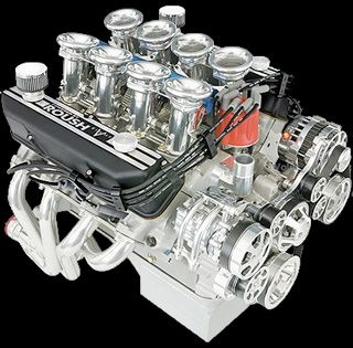Roush Engine 511IRFE 7 4L Shelby Aluminum Block | Roush
