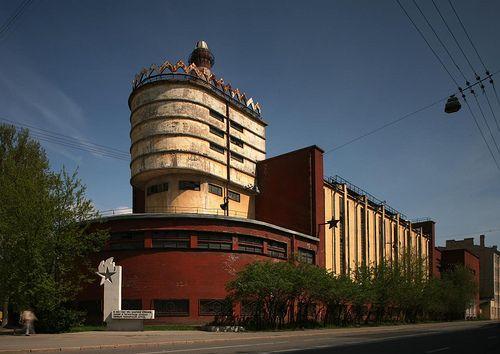 Konstruktivismus Architektur: Power Station Erich Mendelsohn 1 Konstruktivismus Architektur