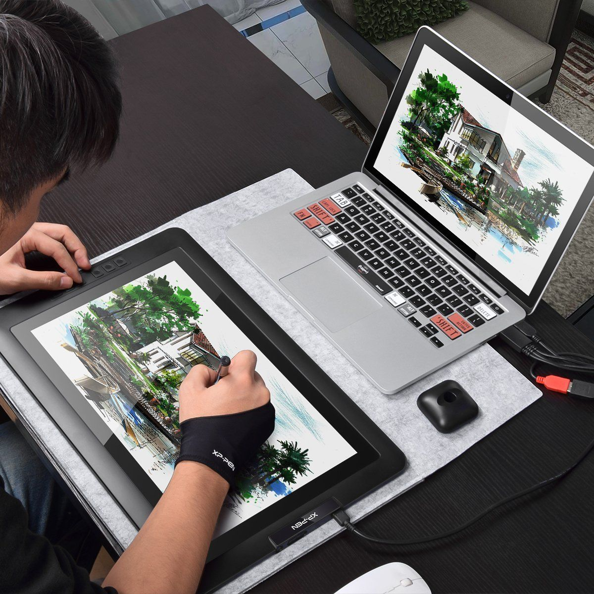 Bring your artwork to life on this digital sketching tablet