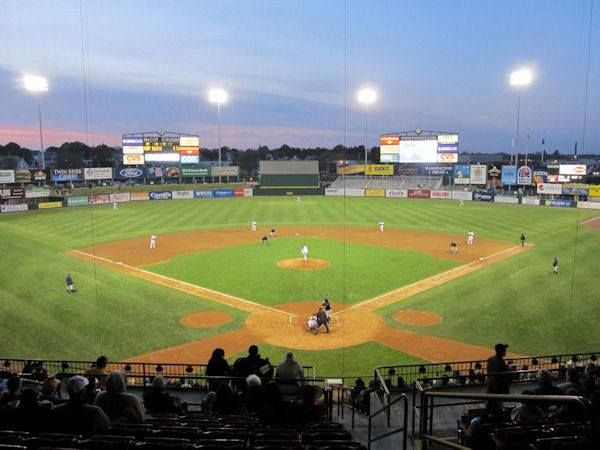 Mccoy Stadium Home Of The Pawtucket Red Sox Triple A Affiliate Of The Boston Red Sox Minor League Baseball College Baseball Boston Red Sox
