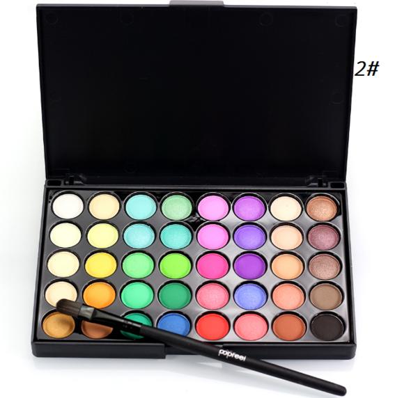 40 Colors Matte Eyeshadow Palette Easy