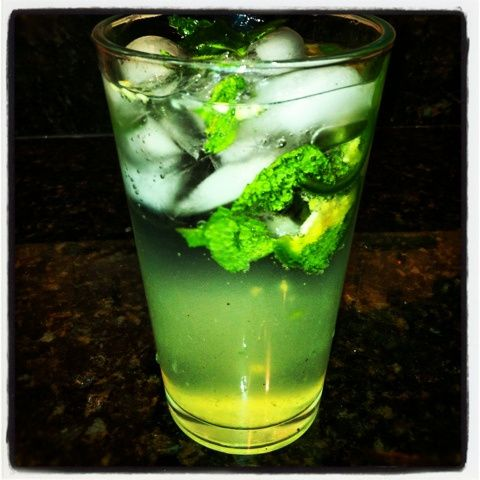 Pineapple Jalapeno Mojito - Maybe the most refreshing drink of all time
