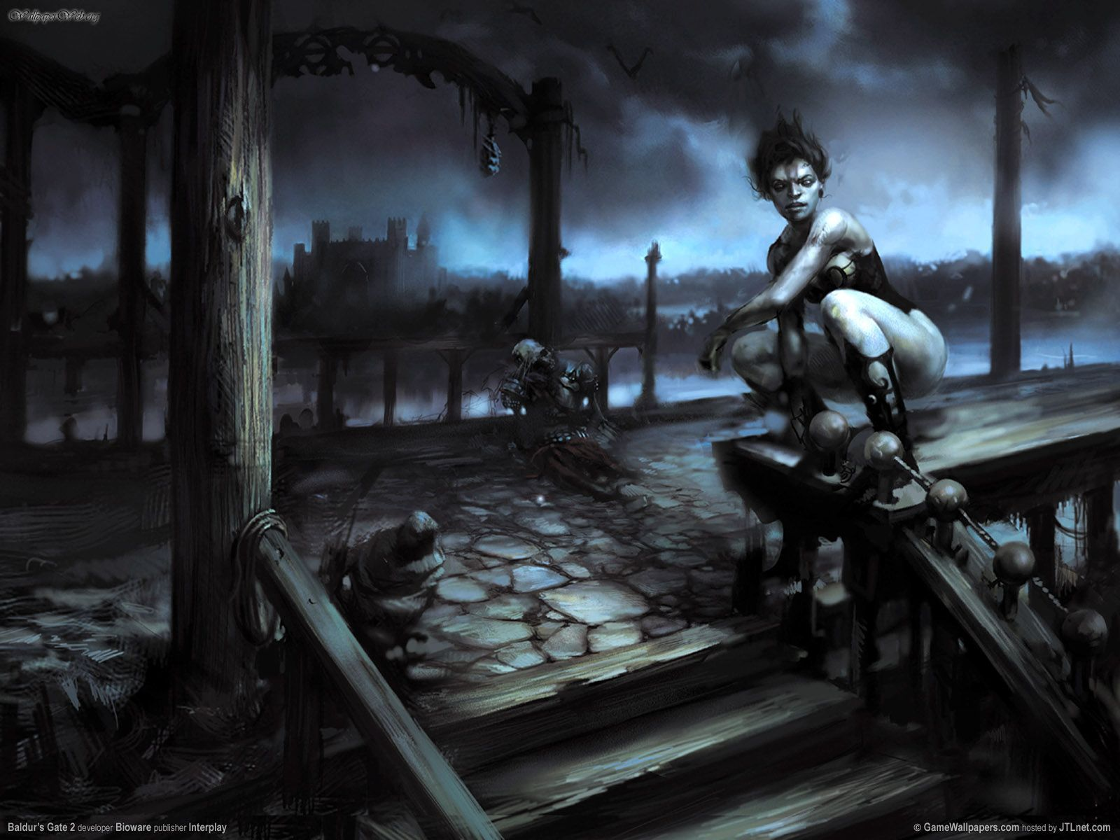 Baldurs Gate Ii Shadows Of Amn In 2019 Baldurs Gate Art