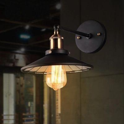 Loft Style Iron Industrial Vintage Wall Lamp Bedside Wall Light ...