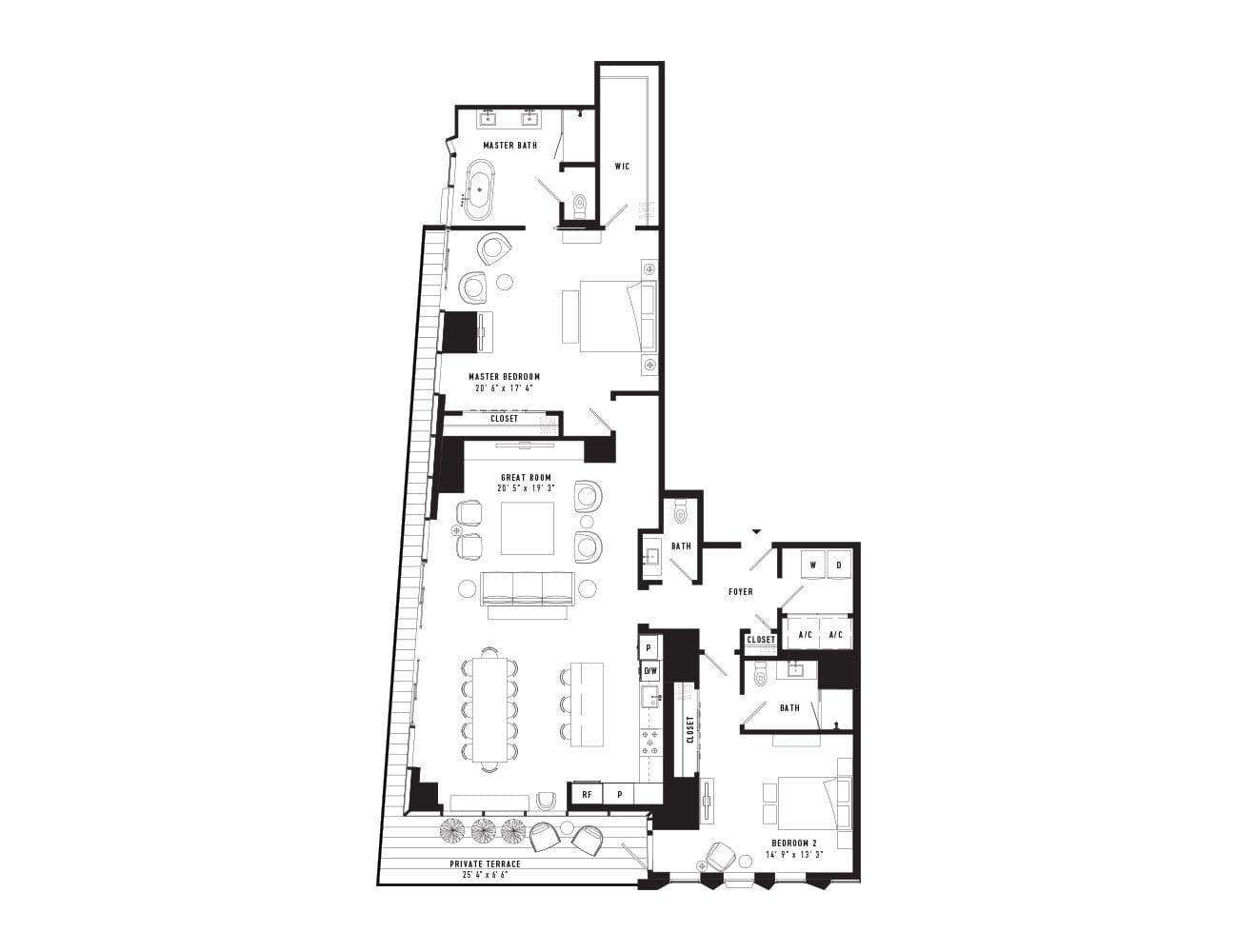 Condo Floor Plans Downtown Austin Tx Austin Proper Residences Condo Floor Plans Floor Plans Downtown Austin