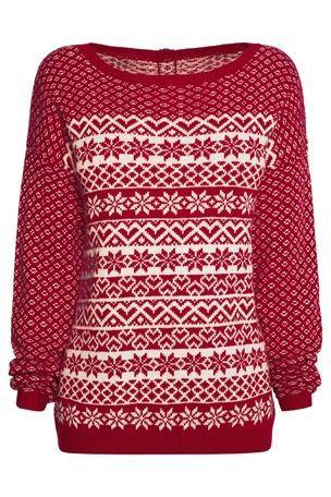 Buy Fairisle Pattern Sweater from the Next UK online shop £30 ...