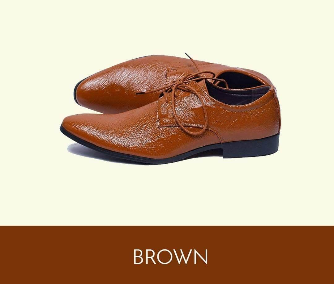 Men Brooks Shoes Round Toe Lace up