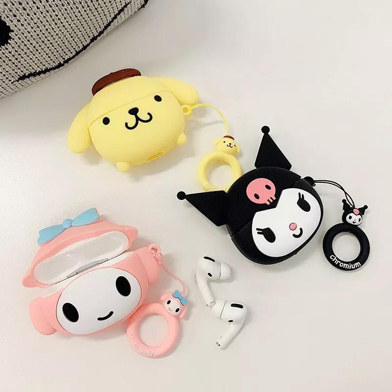 Anime Airpods Pro Protector Case For Iphone Kawaii Phone Case Iphone Cases Case