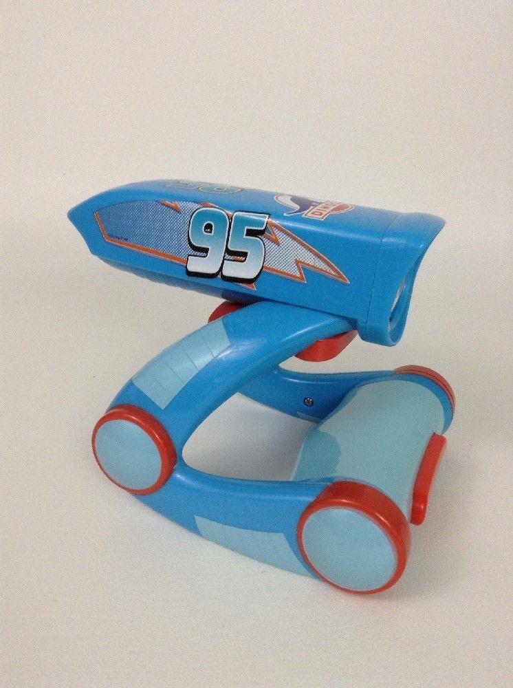 Disney Pixar Cars Laser Control Dinoco Lightning McQueen