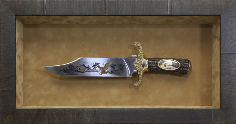Decorative Knife Objects Shadow Box Knife